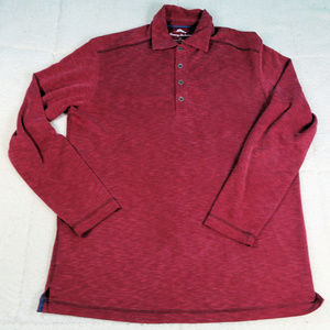 Tommy Bahamas L/S Pullover Shirt Size Small